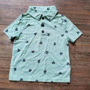 🐢OLD NAVY 🐢 Sea Turtle Polo